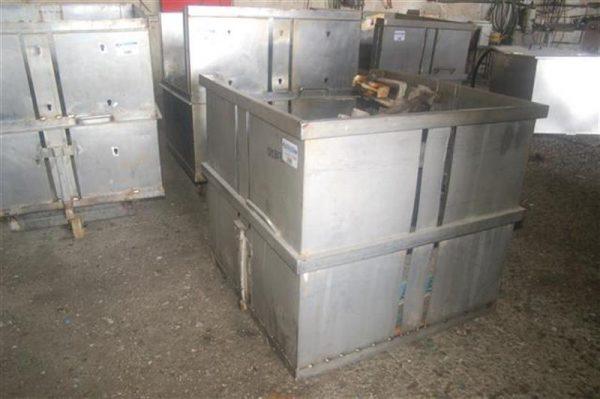 1 jaula cuadrada para autoclave con carro en acier inox 85 cm 2