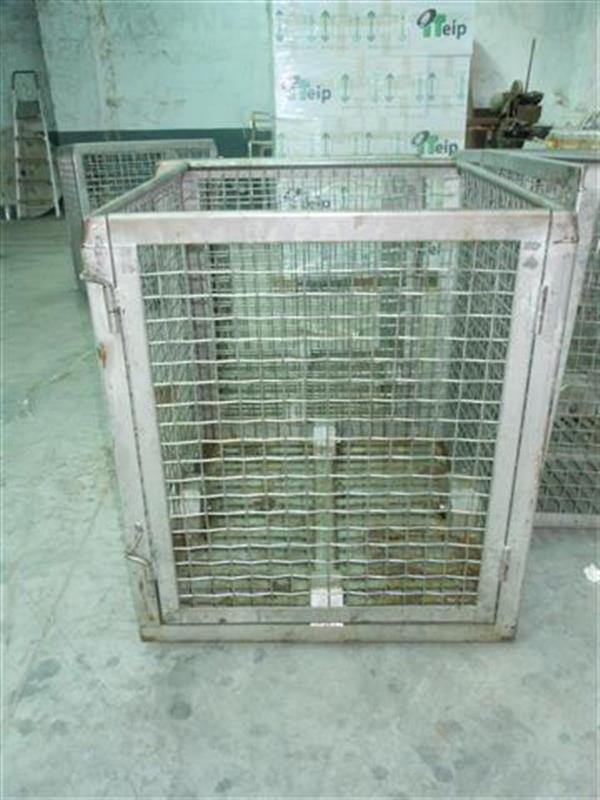 1 jaula cuadrada para autoclave en acier inox starb