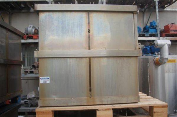 1 jaula rectangular con separadores ferlo 10