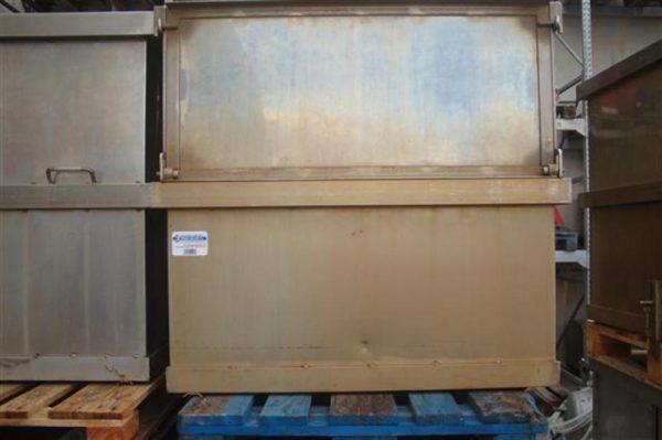 1 jaula rectangular con separadores ferlo 6