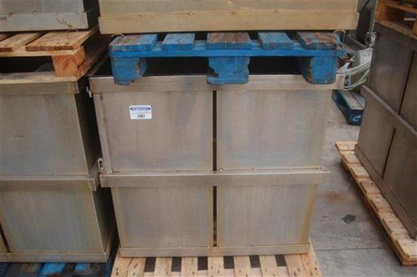 1 jaula rectangular con separadores ferlo 8