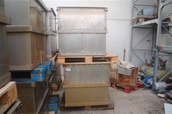 1 jaula rectangular con separadores ferlo 9