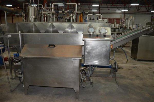 1 lavadora de tarros para todos los formatos en acero