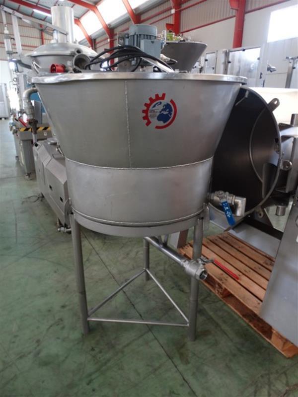 1 mezclador vertical con agitador 250 l