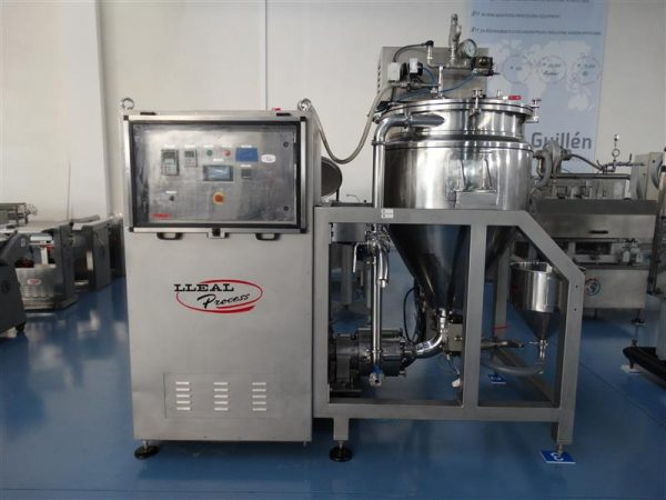 1 mezcladora al vacio lleal process mm 250 400 l
