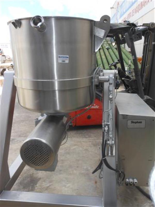 1 mezcladora stephan vw 450 litros