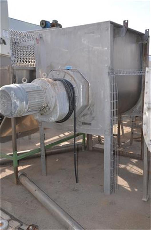 1 mezcladoraamasadora en acero inox winkworth