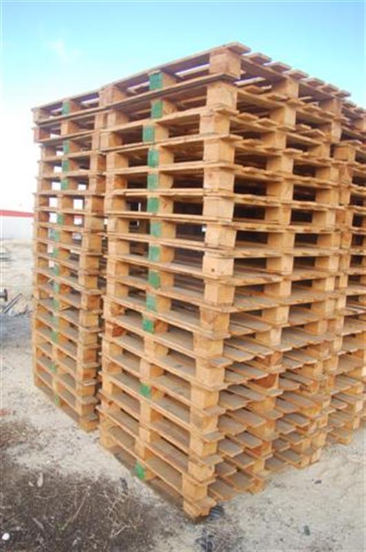 1 palets de madera largo 1.20 m