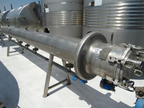1 pasteurizador tubular vettori manghi