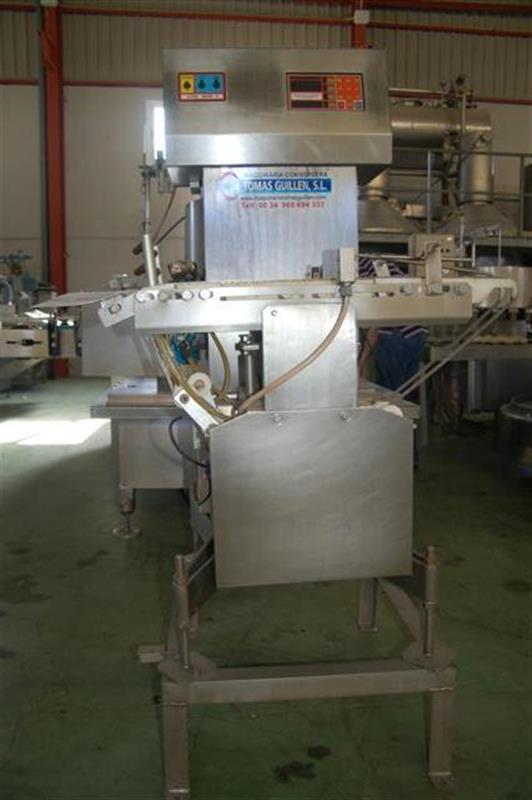 1 peso automatico ramsey mod. icore checkweigher