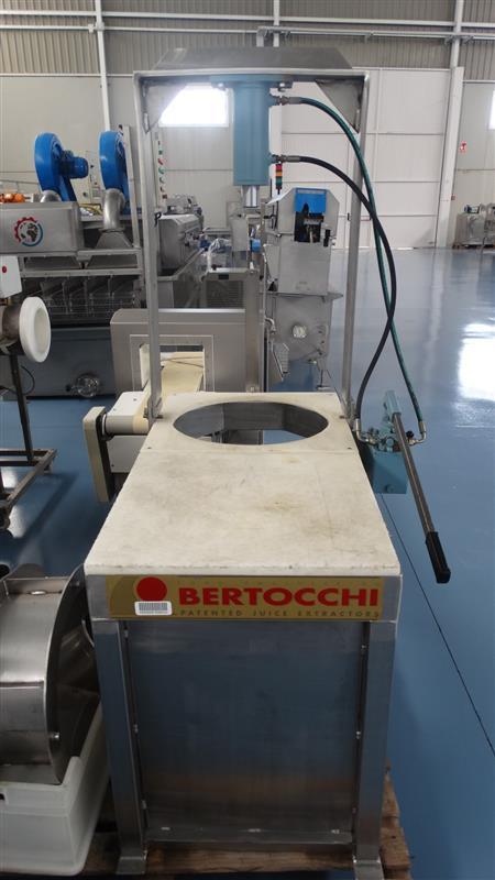1 prensa de tamices bertocchi