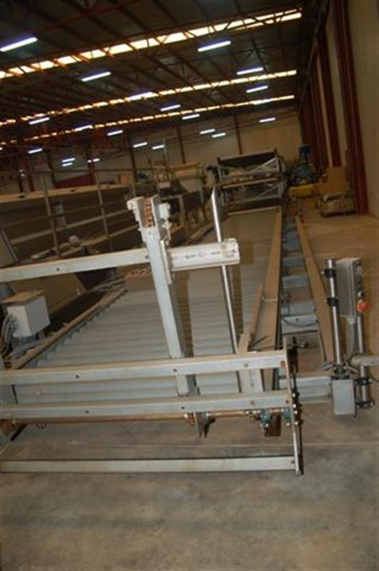 1 rulada de alimentacion automatizada a cocedores y autoclaves largo 10.40 m