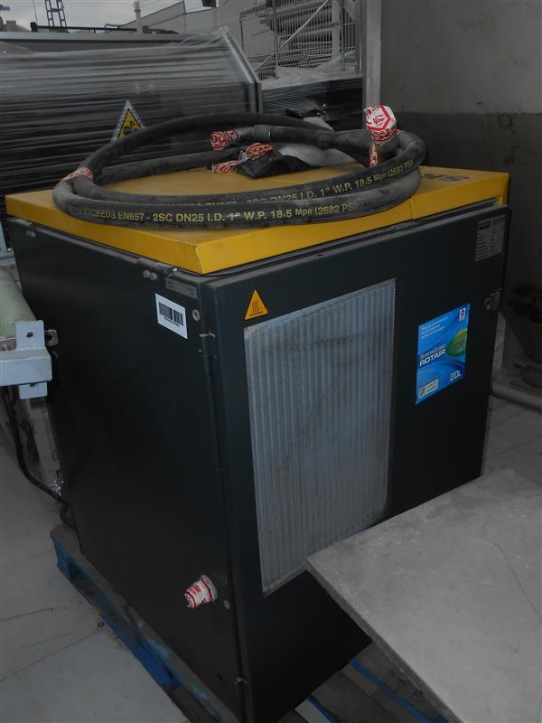 1 secadora de aire kaeser 15 cv