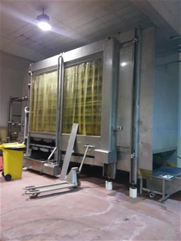 1 sistema de descongelacion en acero inox hermasa