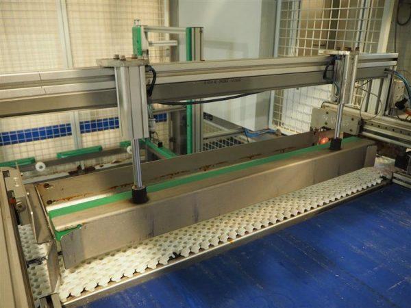 12 enjaulador automatico de bandejas wals systems spider