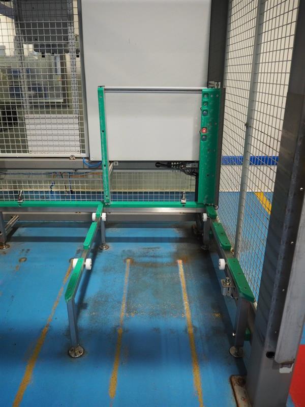 14 enjaulador automatico de bandejas wals systems spider