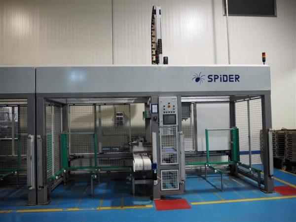18 enjaulador automatico de bandejas wals systems spider