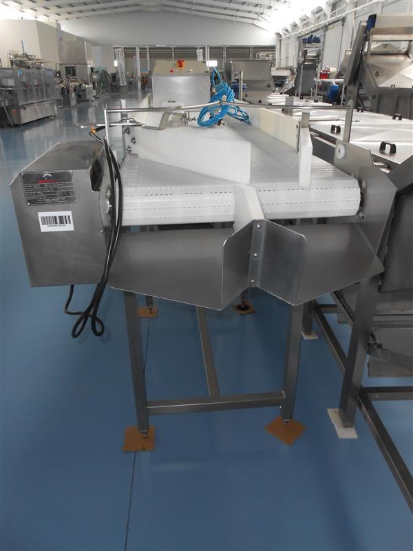 2 cinta transportadora banda modular inpromar inox l 3.75 m a 64.5 cm