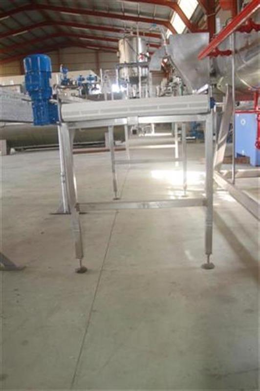 2 cinta transportadora de banda modular 4 m 2