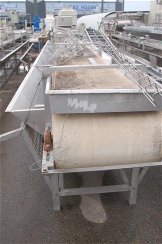 2 cinta transportadora de lona con salida desperdicio abl l10 m a60 cm 1