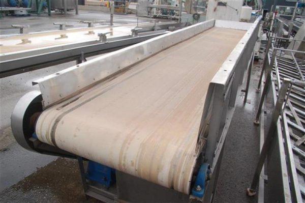 2 cinta transportadora de lona l4.40 m a82 cm