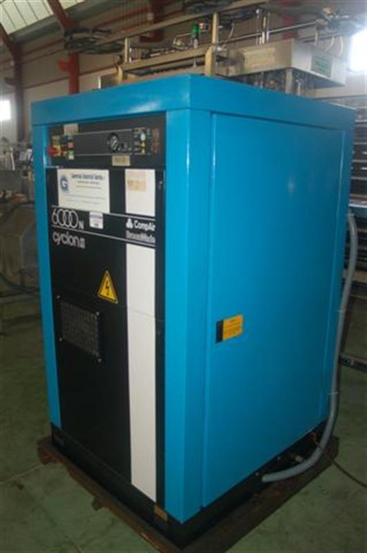 2 compresor de aire de tornillo compair broom wade 6000