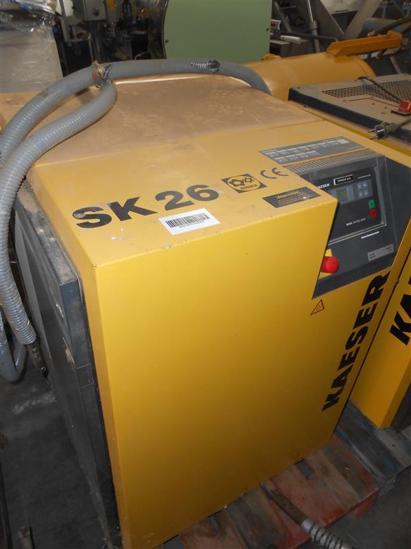 2 compresor de aire de tornillo kaeser sk26 20 cv
