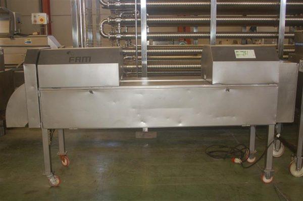 2 cortadora de rodajas en acero inox en v fam ts 1d 1