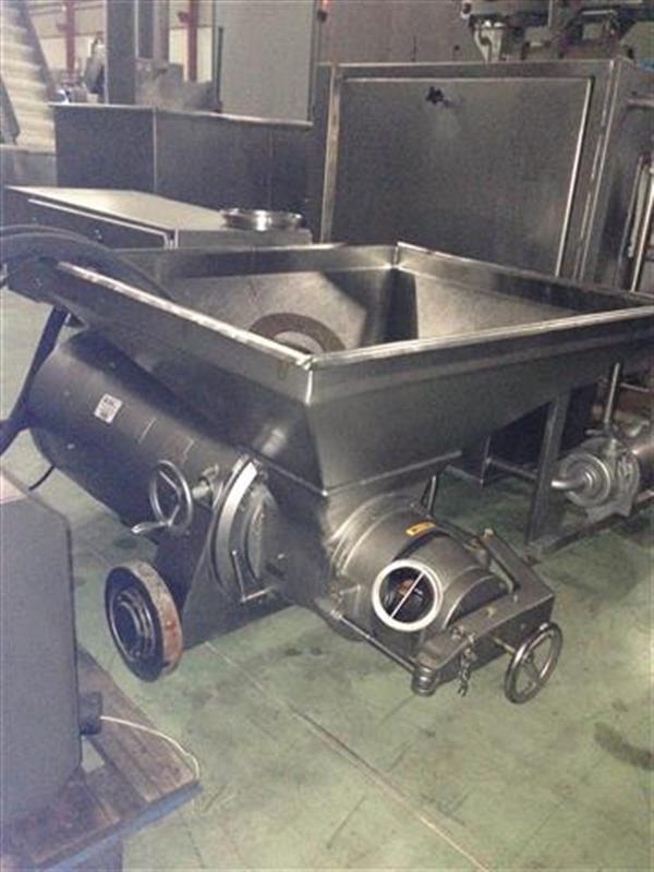 2 cutter bomba picadora en acero inox ks. cv 145.5