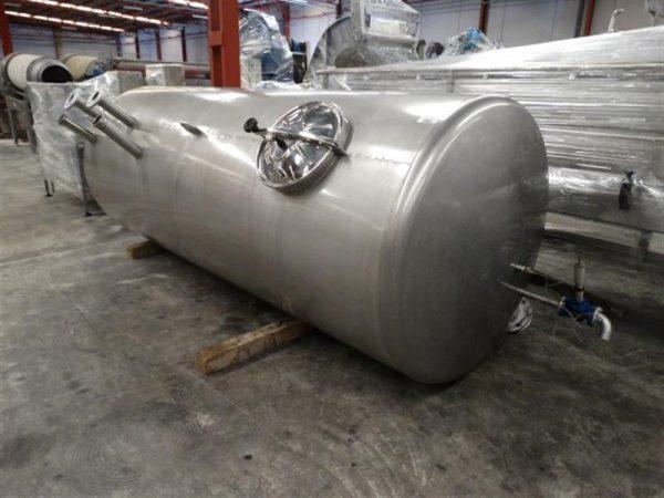 2 deposito vertical con fondo klopper para condensados en inox4000 l