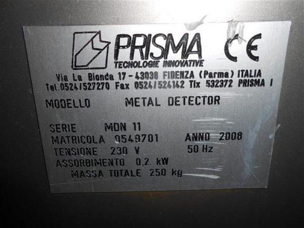 2 detector de metales prisma en acero