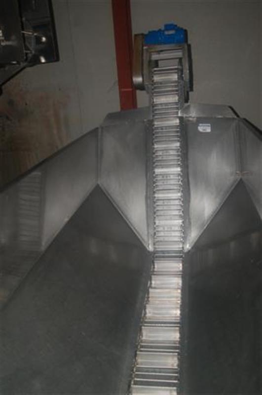 2 elevador con balsa en acero inox descarga 1.60 m 4