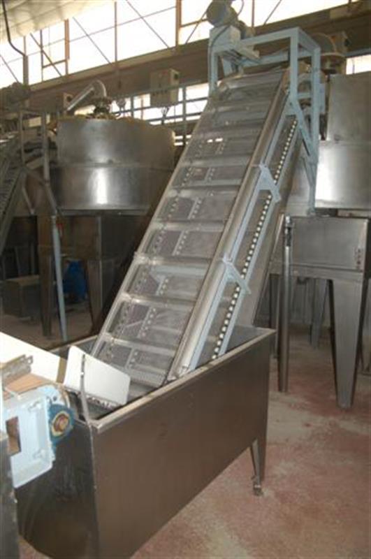 2 elevador de cangilones y cuello cisne con balsa en acero d 2.22 m 1 3