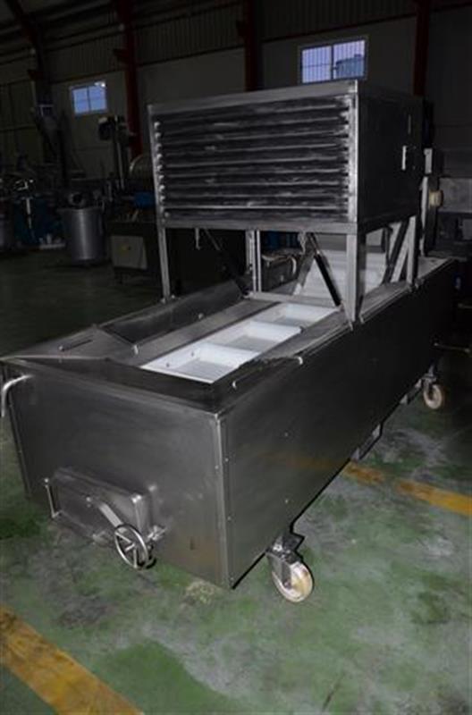 2 glaseador lineal de cangilones de banda modular en acero