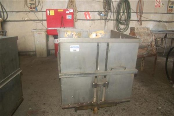 2 jaula cuadrada para autoclave con carro en acier inox 85 cm 1