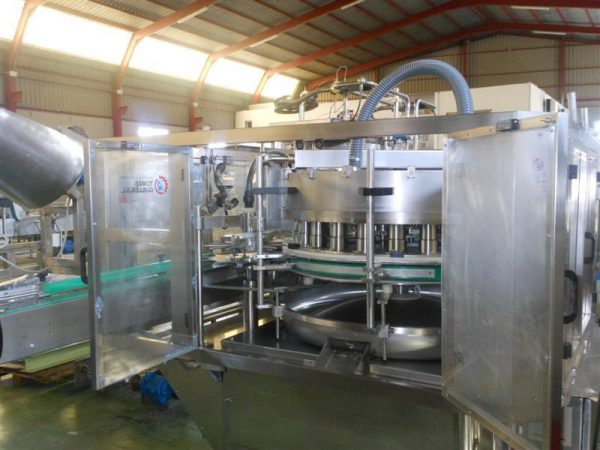 2 llenadora volumetrica dosificadora en acero inox ferlo f 24
