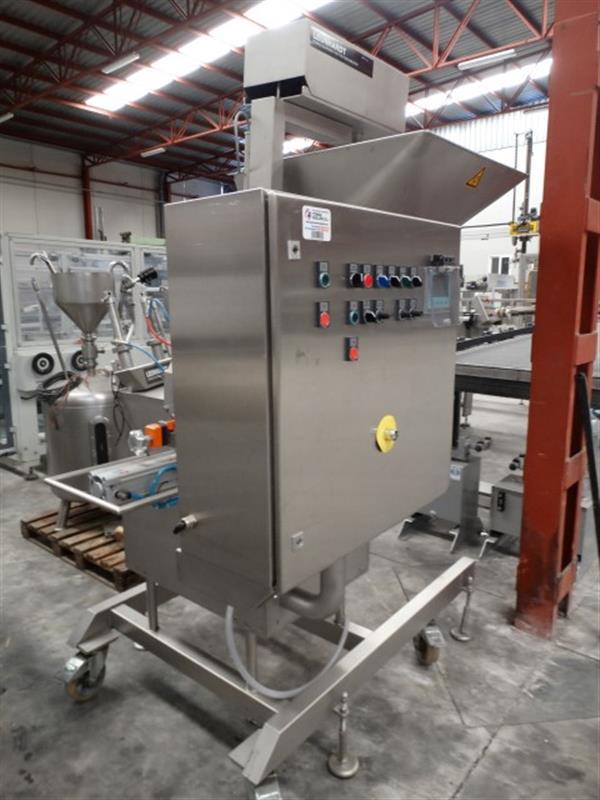 2 llenadora volumetrica dosificadora en acero inox leonhardt