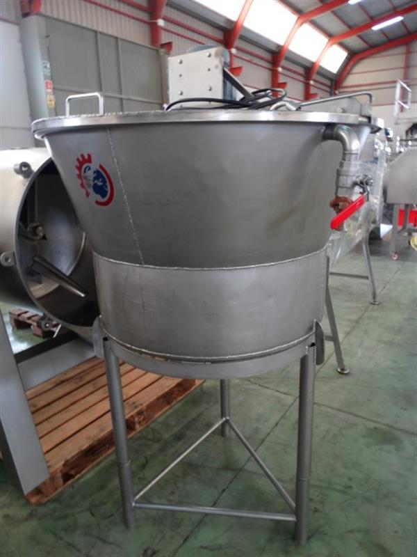 2 mezclador vertical con agitador 250 l