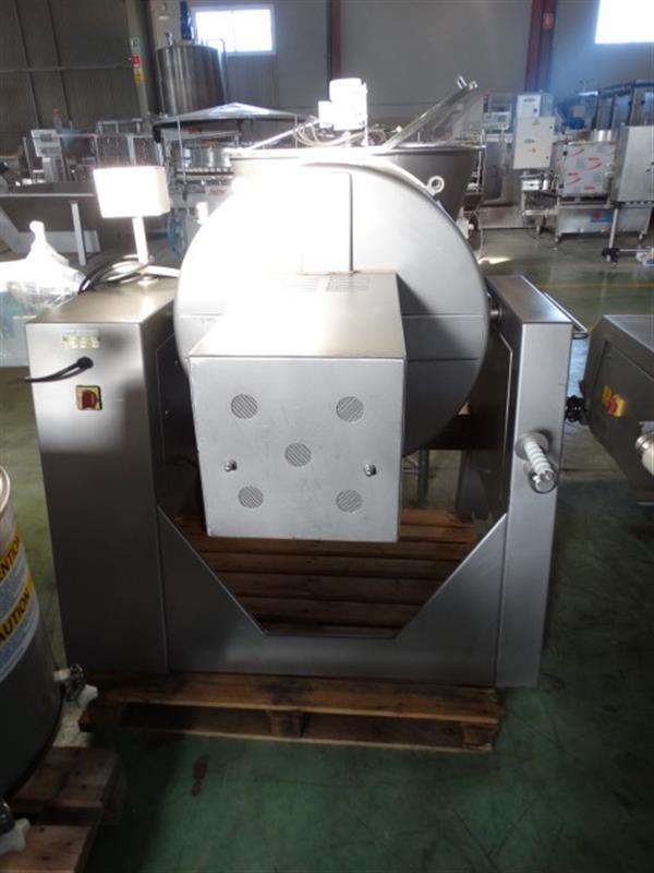 2 mezclador vertical con agitador en acero inox 300 l