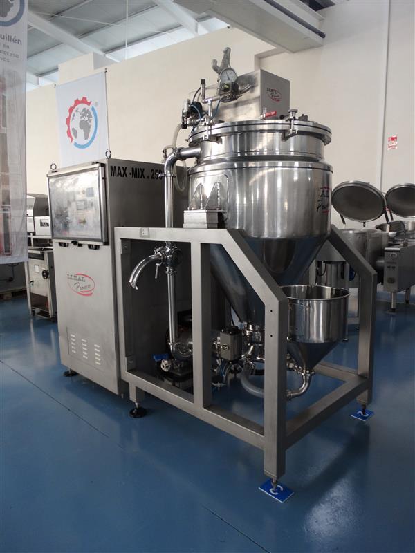 2 mezcladora al vacio lleal process mm 250 400 l