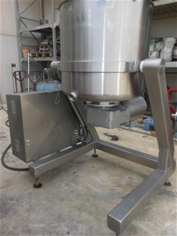 2 mezcladora stephan vw 450 litros
