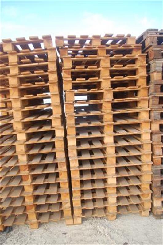 2 palets de madera largo 1.10 m