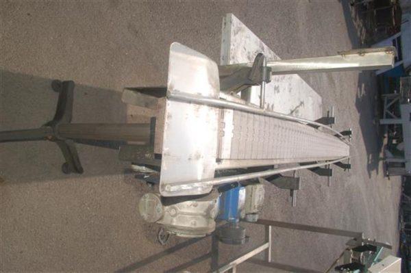 2 transportador de charnela de pvc charnela 11.5 cm. l2.73m