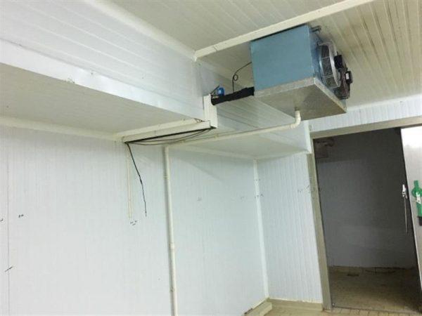 3 camara frigorifica l 7.20 m a 6.30 m alto 3 m