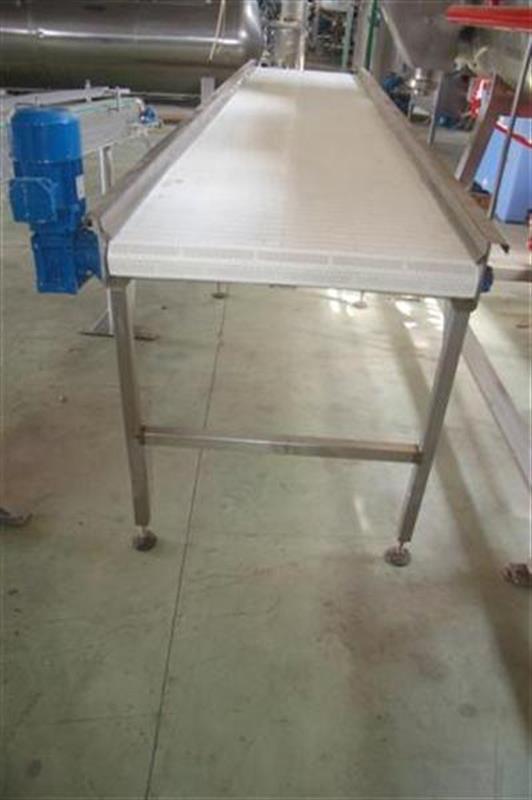 3 cinta transportadora de banda modular 4 m 2