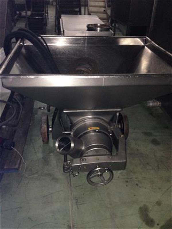 3 cutter bomba picadora en acero inox ks. cv 145.5