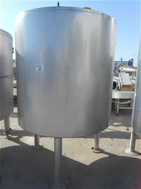 3 deposito de doble fondo isotermoen acero inox 1600 l.