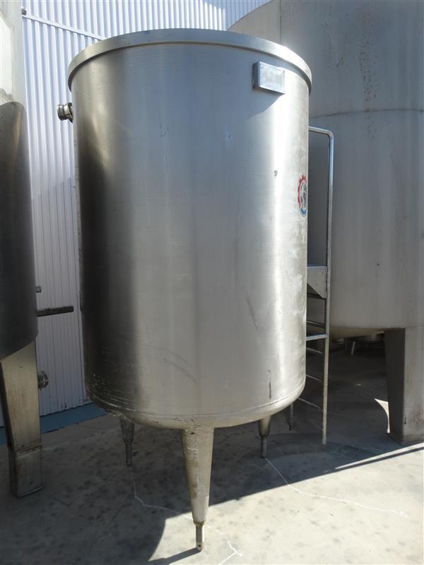 3 deposito vertical con fondo klopper inox2000 l