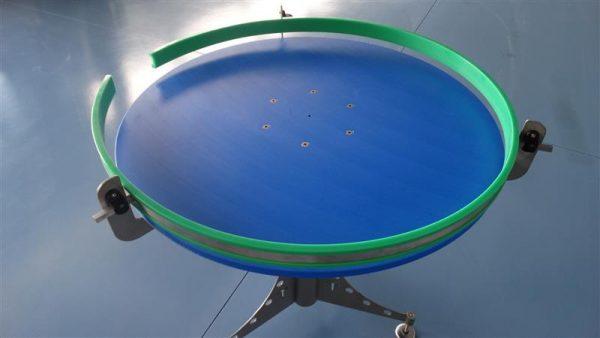 3 disco alimentador de pvc inox. diametro 1 m