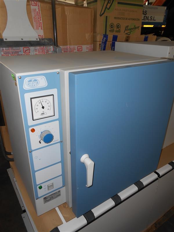 3 estufa de laboratorio selecta incubat